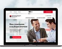 DeltaCredit Bank Website