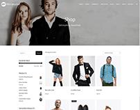 Products Page - Minimalist WordPress Theme