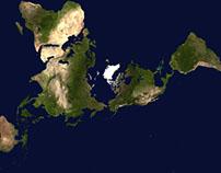 Nice Alternative World Map