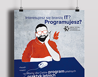 Advertising poster