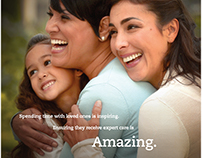Florida Hospital - Life is Amazing Print Ad