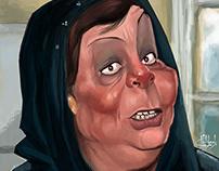 Na3ema Elso3'yr caricature