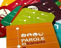 PAROLE in Transito - FUORI SALONE 2012 - Milano