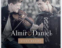Cd cover: Almir & Daniel