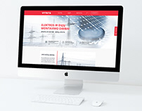 """""""VYTRITA"""" internetinio puslapio dizainas"""