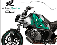 HONDA URBAN HUNTER from sketch to reality