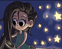 A short fantasy comic