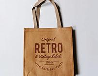 Realistic Canvas Bag MockUp PSD free download