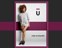 Фирменный стиль для студии красоты United Team