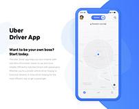 Uber Driver App UI/UX