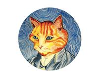 Van Gogh Kitty