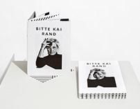 Bitte Kai Rand – Identity and Manifesto Catalogue