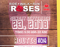 Ride | Walk | Run for the Roses 2018 Poster