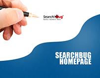 SearchBug Homepage Concept