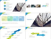 20+ Blue multipurpose presentation PowerPoint templates