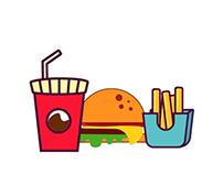 Burger Scene