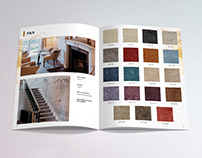 Media kit design and layout / Brochure / Angelo Rugs