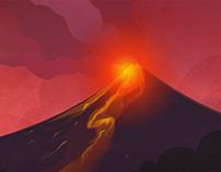 Mt. Mayon GIF