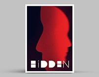 Hidden Minimal Movie Poster