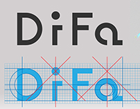 DiFa logo design