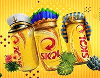 """Ambev . Skol """"Dia do Fico"""" Carnival Promo"""
