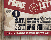 BBC Radio 1 Jan Slam Poster