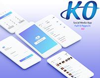 KO Social Media App