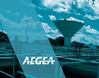 Anúncio Aegea para a FGV