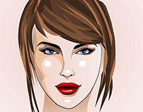 Нина Ефремова - Иллюстрации для микростоков в AI