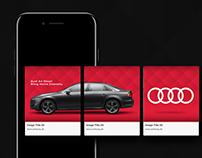Audi Carousel Ads