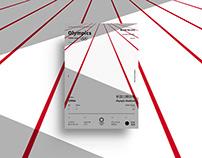OLYMPICS Tokyo 2020 Poster Series