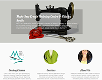 Make Sew Create Website