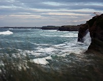 Galicia. Landscapes. Winter.