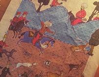 Bayezid Hünername Miniature Painting