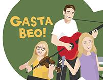 BBC Bytesize - As Gaeilge - Gasta Beo Illustrations