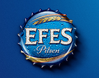 Efes Pilsen Bottle Cap