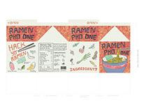 Ramen Pho One Packaging