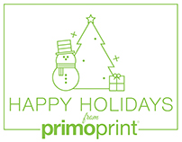 Happy Holidays from Primo Print