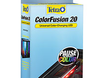 Tetra ColorFusion Color-Chainging LED packaging
