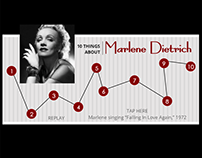 10 Things about Marlene Dietrich