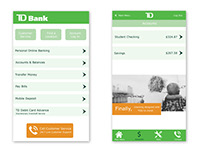 TD Bank Mobile App Redesign