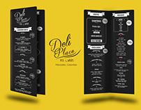Diseño de menú // Manizales Colombia