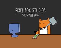 Pixel Fox Studios | Showreel 2016