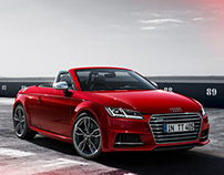 Audi TTS Roadster Catalogue CGI