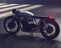 Brat Style Honda CB