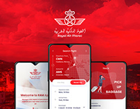 Moroccan airlines UI/UX App re-design