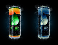 Energy drink - CG Packshot