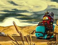 Character Design - Bard en Route
