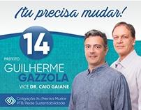Campanha PTB Itu/SP - Prefeito Guilherme Gazzola