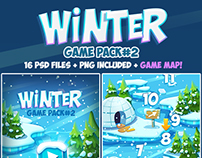 Christmas Winter Frozen Full Game Pack 2 with Game Map